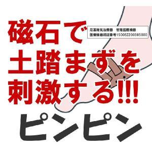 磁気足裏サポーター ピンピン 足裏磁気治療器 管理医療機器|yorozuya-harumi