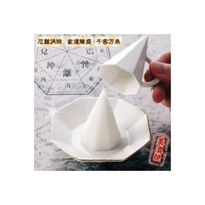 幸運の美濃焼き八角盛塩セット 風水パワーで恋愛婚活成就|yorozuya-harumi