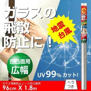 ガラス飛散シート凹凸面用広幅96cmx1.8m[M6080]|yorozuya-souko