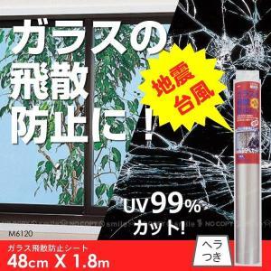 ガラス飛散防止シート48cmX1.8m[M6120]|yorozuya-souko