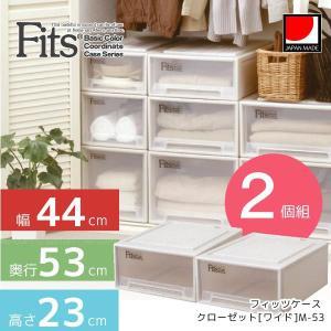 フィッツケース クローゼット[ワイド]M-53【2個組】