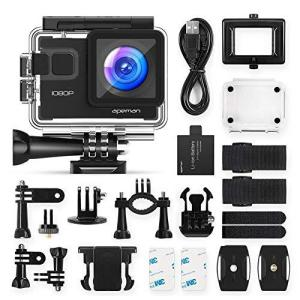 【進化WIFI版】 APEMAN A68 アクションカメラ 1080P高画質 1400万画素 WiF...