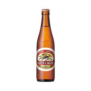 キリンラガービル 小瓶 334ml 1ケース(30本入/ 箱・瓶代が含まれてます )|yorozuyasan
