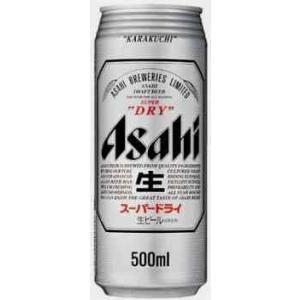 アサヒ スーパードライ 500ml 1ケース(24本入)|yorozuyasan