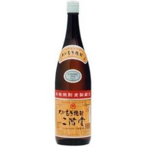 (麦)大分むぎ焼酎 二階堂 25°1.8L瓶 1本|yorozuyasan