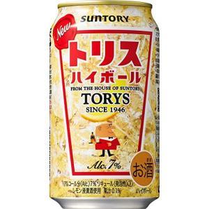 サントリー トリスハイボール缶  350ml  1ケース(24本入)|yorozuyasan