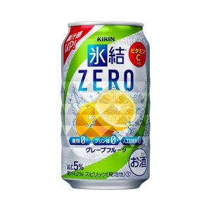 キリン 氷結ZERO グレープフルーツ 350ml 1ケース(24本入)|yorozuyasan