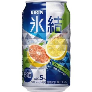 キリン 氷結グレープフルーツ 350ml 1ケース(24本入)|yorozuyasan