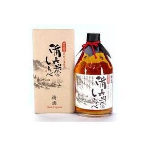 尾崎酒造 備長炭のしらべ梅酒720ml  1本|yorozuyasan