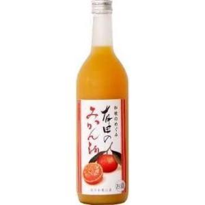 世界一統 『和歌のめぐみ』 有田みかん酒 720ml〈箱なし〉  1本|yorozuyasan