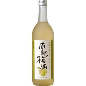 世界一統 和歌のめぐみ 南部の梅酒 720ml(クリアケース入り) 1本|yorozuyasan