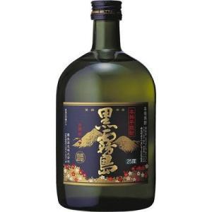 黒霧島 本格芋焼酎 25°720ml瓶 1本|yorozuyasan