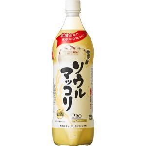 サントリー ソウルマッコリ 1Lペット(業務用)  1ケース(12本入)|yorozuyasan