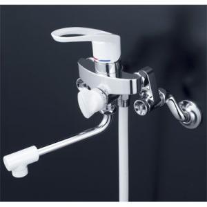 KVK  シングルレバー式シャワー KF5000WU ソケットを外さなくてOK取替用水栓  寒冷地仕様|yorozuyaseybey