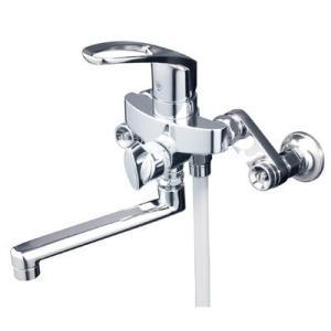 KVK シングルレバー式シャワー KF5000THA  ●リフォームに便利な楽締め水栓|yorozuyaseybey