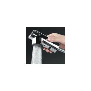 KVK  シャワー引出式シングルレバー付混合栓 KM5021ZT  寒冷地仕様|yorozuyaseybey|02