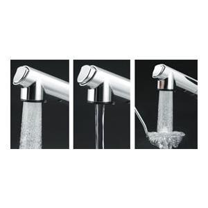 KVK  シャワー引出式シングルレバー付混合栓 KM5021ZT  寒冷地仕様|yorozuyaseybey|04