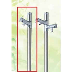 デザイン水栓柱 ブランシュ 1.0m EINF13X1000 光合金製作所|yorozuyaseybey