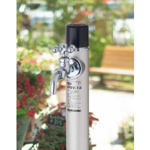 不凍給水栓丸型 ARSV 接続20mm 吐水口径13mm 1.0m 光合金製作所|yorozuyaseybey