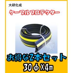 大研化成 ケーブルプロテクター φ30X4M  お得な2本セット|yorozuyaseybey
