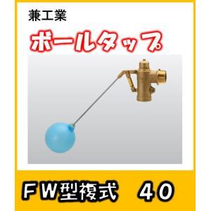 兼工業 ボールタップ FW型 複式 40 ポリ玉 yorozuyaseybey