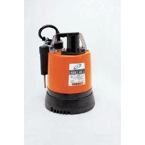 水中ハイスピンポンプLSR型 自動型  低水位排水用 LSRE2.4S 鶴見ポンプ|yorozuyaseybey