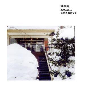 山清電気 融雪マット 階段用 TYK-200-1 (2090X810 t=6) 電気で玄関周りの雪を消す消雪マット※[代引き不可]|yorozuyaseybey