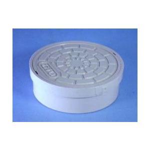 アロン 塩ビ製蓋 内径接続型 おすい文字入 ICO-H 100|yorozuyaseybey