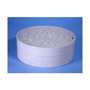 アロン 塩ビ製蓋 外径接続型 おすい文字入 OCO-H 100|yorozuyaseybey