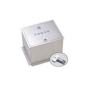 ステンレス製不凍給水栓ボックス HAS-FB2K ( 鍵付タイプ )|yorozuyaseybey