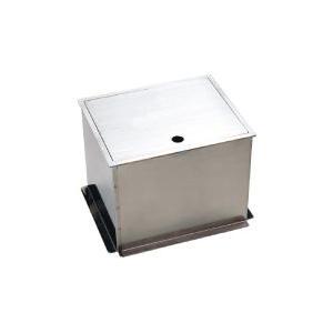 ステンレス製不凍給水栓ボックス HAS-FB2N 蓋:無地|yorozuyaseybey
