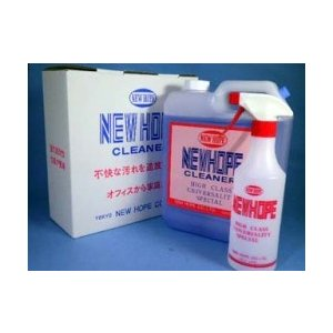 ニューホープクリーナー 4L  薄めて使う 業務用万能洗剤|yorozuyaseybey