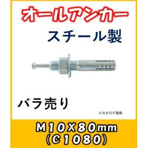 サンコー オールアンカー Cタイプ スチール製 C-1080バラ売り|yorozuyaseybey