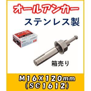 サンコー オールアンカー Cタイプ ステンレス製 SC-1612 15本入り1箱|yorozuyaseybey