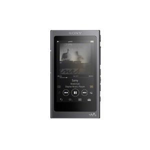 即納在庫在り SONY ウォークマン NW-A45HN/B (グレイッシュブラック) 16GB|yoshiba-direct