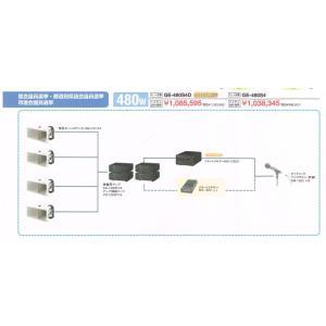 TOA 車載用アンプセット GE-480S4D 480W(ワイヤレス対応可)|yoshiba-direct