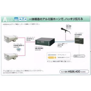 UNI-PEX 車載アンプ 300W L パワーセット Aセット 12v (都道府県議会議員/市議会議員/市長)|yoshiba-direct