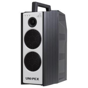UNI-PEX 300MHz帯CD付防滴形ハイパワーワイヤレスアンプ WA-372CD (ダイバシティ) CD(+USB+SD/再生)付き|yoshiba-direct