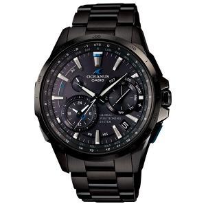 カシオ オシアナス 腕時計 CASIO OCEANUS フルメタルGPSハイブリッド電波ソーラー 時計 OCW-G1000B-1AJF