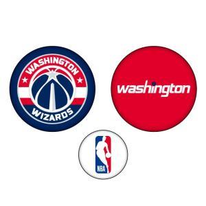 八村塁選手所属 NBA ワシントン ウィザーズ グッズ 缶バッジ3個セット NBA32733|yoshiesports