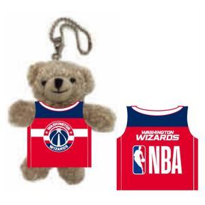 八村塁選手所属 NBA ワシントン ウィザーズ グッズ ユニホームベアキーチェーン NBA33785|yoshiesports