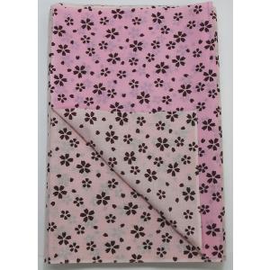 リバーシブル 手拭い 桜ピンク 1反 てぬぐい 手ぬぐい|yoshietsu