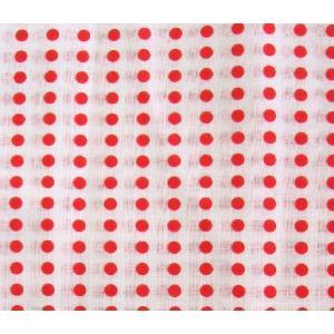 手拭い 豆絞り赤 1反(10枚分) てぬぐい 手ぬぐい|yoshietsu