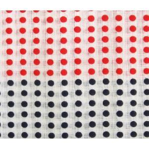 手拭い 豆絞り紺赤 1反(10枚分) てぬぐい 手ぬぐい|yoshietsu