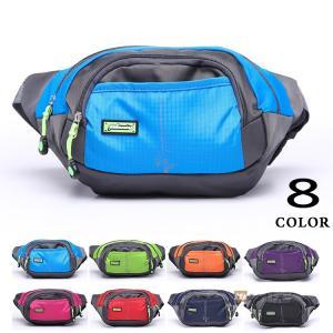 ウエストバッグ ウエストポーチ バッグ レディース ボディバッグ ショルダーバッグ 鞄 アウトドア 防水 バッグ|yoshikootory