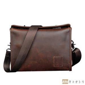 レザーバッグ ショルダーバッグ サコッシュ ビジネスバッグ メンズ メッセンジャーバッグ 斜めがけ バッグ 軽量 カバン|yoshikootory