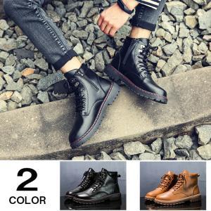 メンズブーツ ショートブーツ ワークブーツ マウンテンブーツ ブーツ メンズ ミリタリーブーツ 冬靴 靴 防寒|yoshikootory