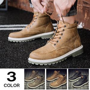 ミリタリーブーツ ワークブーツ マウンテンブーツ ブーツ メンズ ショートブーツ 冬靴 靴 防寒 メンズファション|yoshikootory
