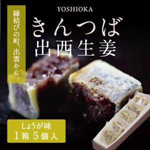 【1日限定20個】きんつば 生姜(出西生姜) 5個|yoshioka-seika