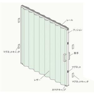 タチカワ アコーディオンカーテンメイト 規格サイズ 幅100cm高180cm|yoshioka|03